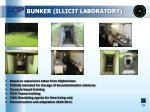 bunker illicit laboratory
