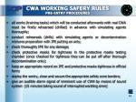 cwa working safery rules pre entry procedures1