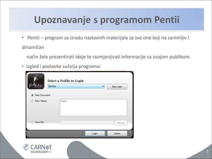 Pentii – program za izradu nastavnih materijala za sve one koji na zanimljiv i dinamičan