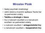 miroslav plz k4