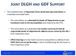 joint dlgh and gdf support1