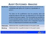 audit outcomes analysis4