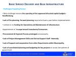 basic service delivery and bulk infrastructure4