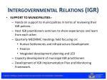 intergovernmental relations igr2