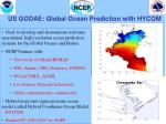 us godae global ocean prediction with hycom