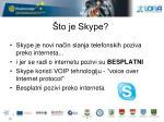 to je skype