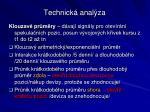 technick anal za5