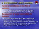 5 entrepreneurial culture promotion
