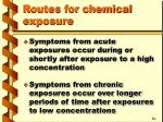 routes for chemical exposure2