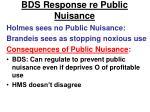 bds response re public nuisance1