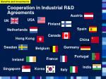 cooperation in industrial r d agreements