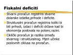 fiskalni deficiti