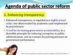 1 enhancing transparency