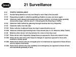 21 surveillance