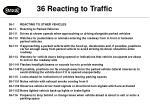 36 reacting to traffic