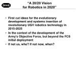 a 20 20 vision for robotics in 2020