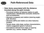 path referenced data