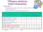 tcpopera validation snort evaluation