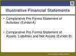 illustrative financial statements