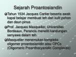 sejarah proantosiandin