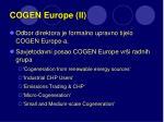 cogen europe ii
