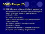 cogen europe iv