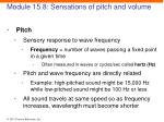 module 15 8 sensations of pitch and volume1