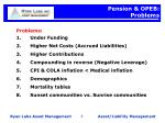 pension opeb problems