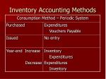 inventory accounting methods1