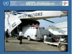 mdts deployment
