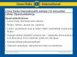 lions clubs internationalin esittely 12 minuuttia l hde opastusk sikirja