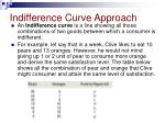 indifference curve approach1