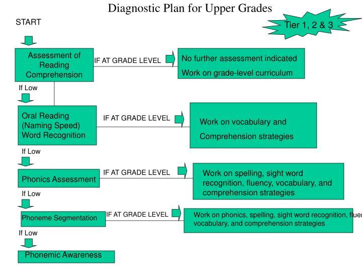 Diagnostic Plan for Upper Grades