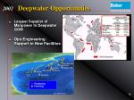 deepwater opportunities