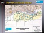 our opco served market