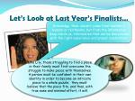let s look at last year s finalists2