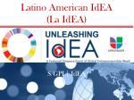 latino american idea la idea