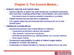 chapter 2 the current market