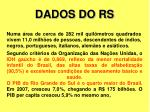 dados do rs1