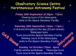 observatory science centre herstmonceux astronomy festival