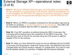 external storage xp operational notes 3 of 8