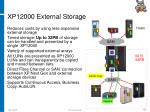 xp12000 external storage