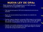 nueva ley de opas1