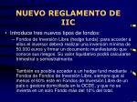 nuevo reglamento de iic1