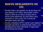 nuevo reglamento de iic2