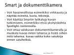 smart ja dokumenttikamera