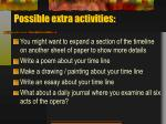 possible extra activities