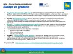 istra komunikacija prema europi europa za gra ane