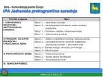 istra komunikacija prema europi ipa jadranska prekograni na suradnja2