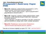istra komunikacija prema europi ipa komponenta v ruralni razvoj program ipard1